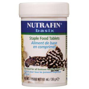 Nourriture Nutrafin basix en comprimés pour poissons tropicaux de fond