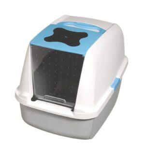 Bac à litière recouvert Catit - Bleu