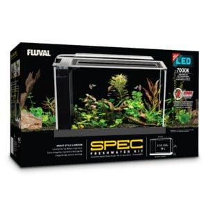 Aquarium équipé SPEC Fluval, noir, 19 L (5 gal US)