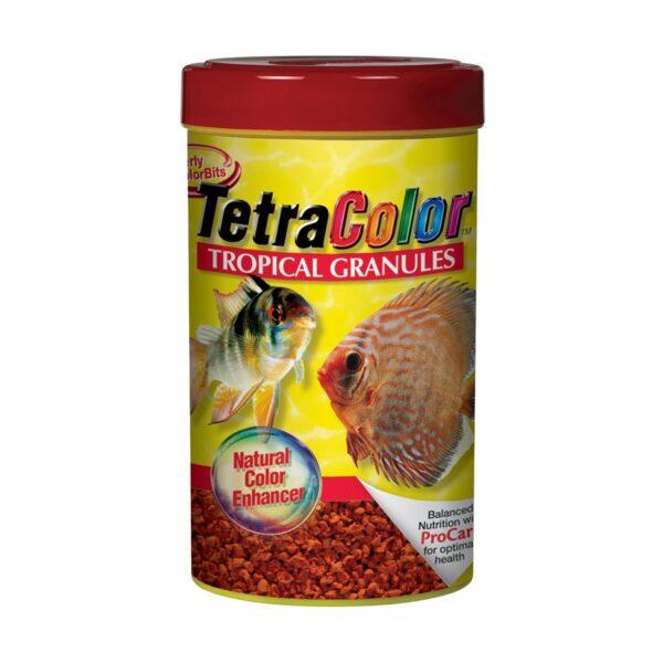 Granules pour poissons tropicaux TetraColor - Rehausseur de couleur