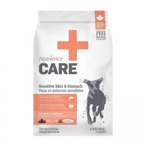 Nourriture Peau et Estomac Sensibles pour chiens - Nutrience Care