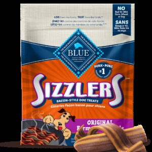 Blue Sizzlers, Gâteries tendres pour Chiens, Bacon - Blue Buffalo