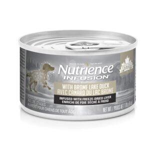 Conserve Canard du lac brôme pour Chien 170 g - Nutrience Infusion