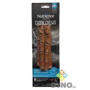 Bâtons de ramure Cabin Chews Nutrience Subzero, Pacifique Canadien, paquet de 5