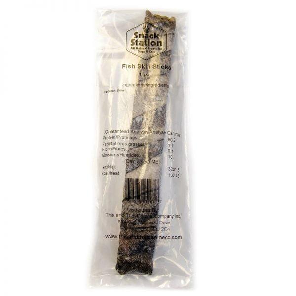 Peau de Morue de la Nouvelle-Écosse pour Chiens, en Vrac - Snack Station