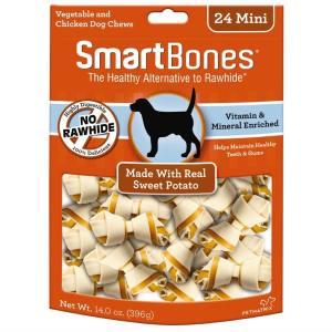 Mini os SmartBones à la Patate Douce – Paquet de 24